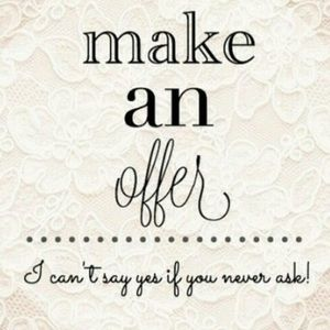 Other - Make me an offer 💜